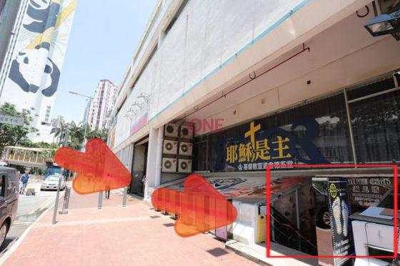滿足坊就在Panda Hotel 悅來酒店斜對面,步行數分鐘即達