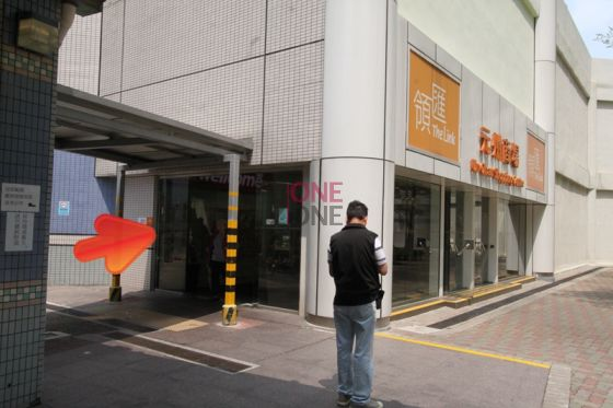 進入「元州商場」後直行,穿過商場。