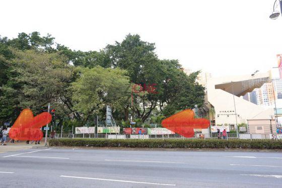 在「沙咀道遊樂場」外沿沙咀道行,至馬路口向左過馬路。