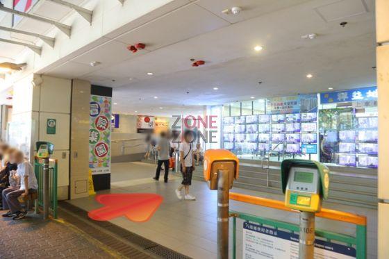 良景輕鐵站直入良景商場。